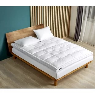 down mattress pads toppers you ll