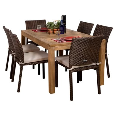 Wood Patio Dining Sets You ll Love   Wayfair