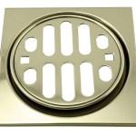 Westbrass Frank Pattern Snap In 4 5 Shower Strainer With Overflow Wayfair