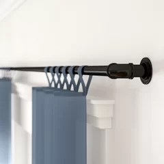 240 inch curtain rod wayfair