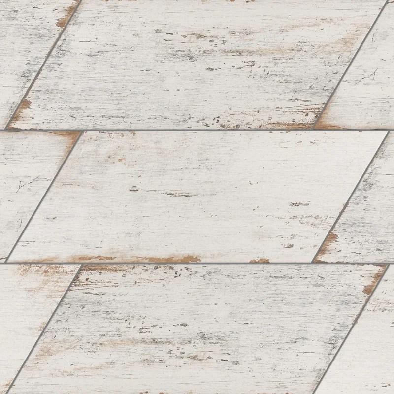 rama 7 x 16 beveled porcelain mosaic wall floor tile