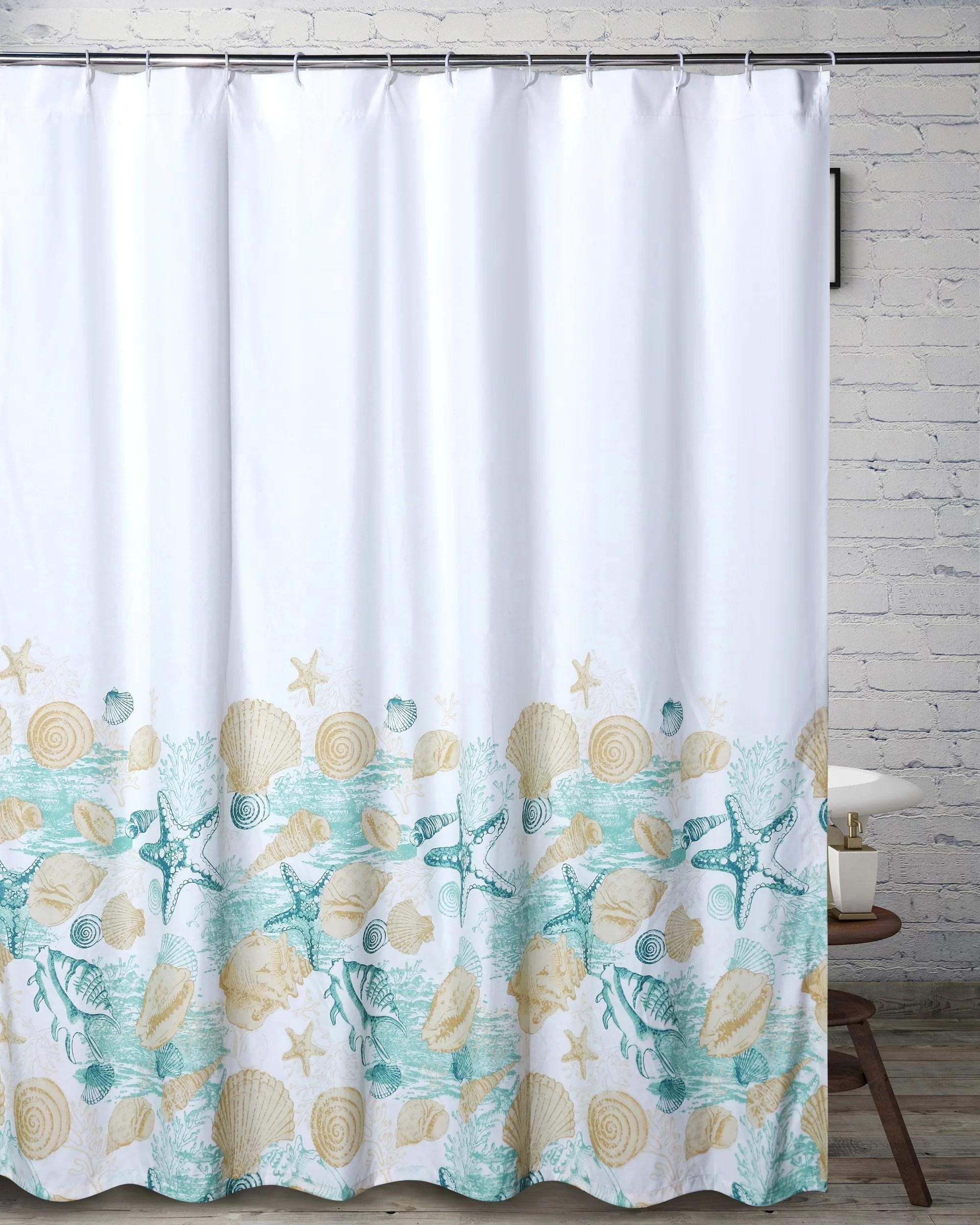 vanek single shower curtain