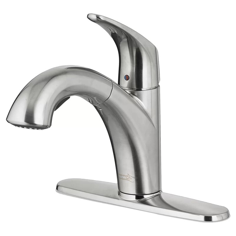 colony pro pull out single handle kitchen faucet