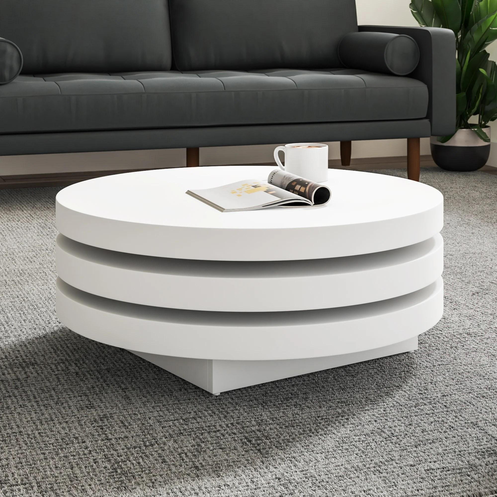 modern block coffee tables allmodern