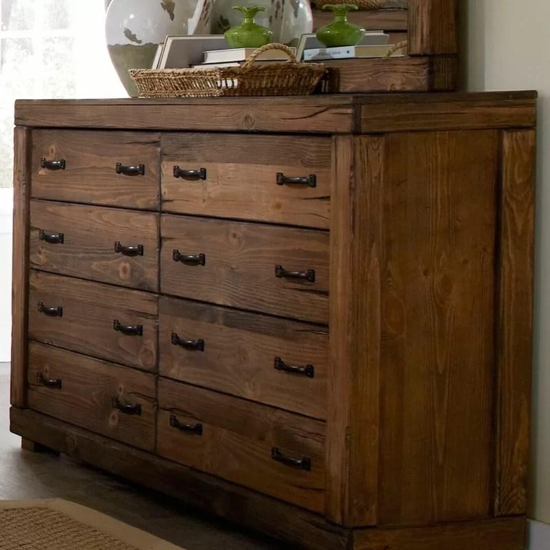 nyla 8 drawer double dresser