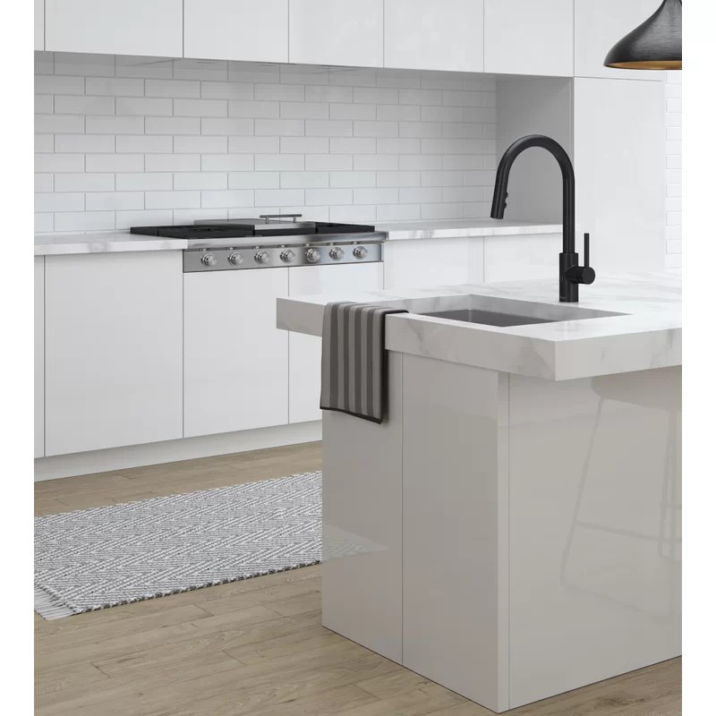 stellen pull down touchless single handle kitchen faucet