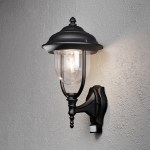 Konstsmide Parma Modern Up 1 Light Outdoor Wall Lantern With Motion Sensor Wayfair Co Uk