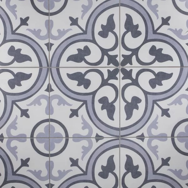 amberes ii 13 x 13 ceramic patterned wall floor tile