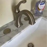 arlo single hole bathroom faucet with drain assembly