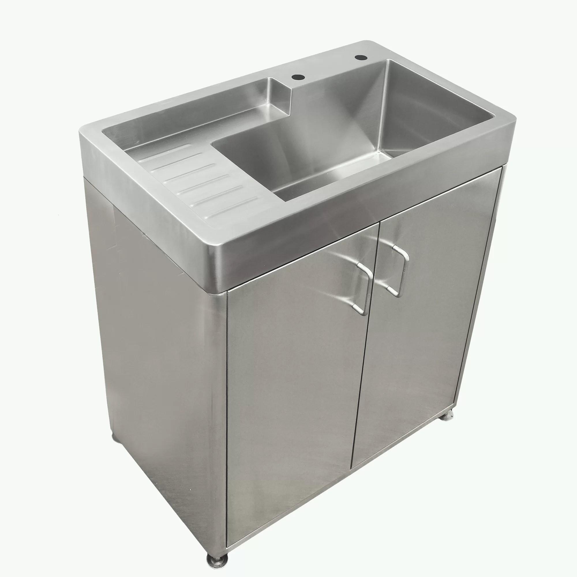 33 l x 20 w free standing laundry sink