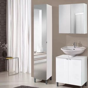 tall bathroom cabinets wayfair co uk - Tall Bathroom Cabinets Uk