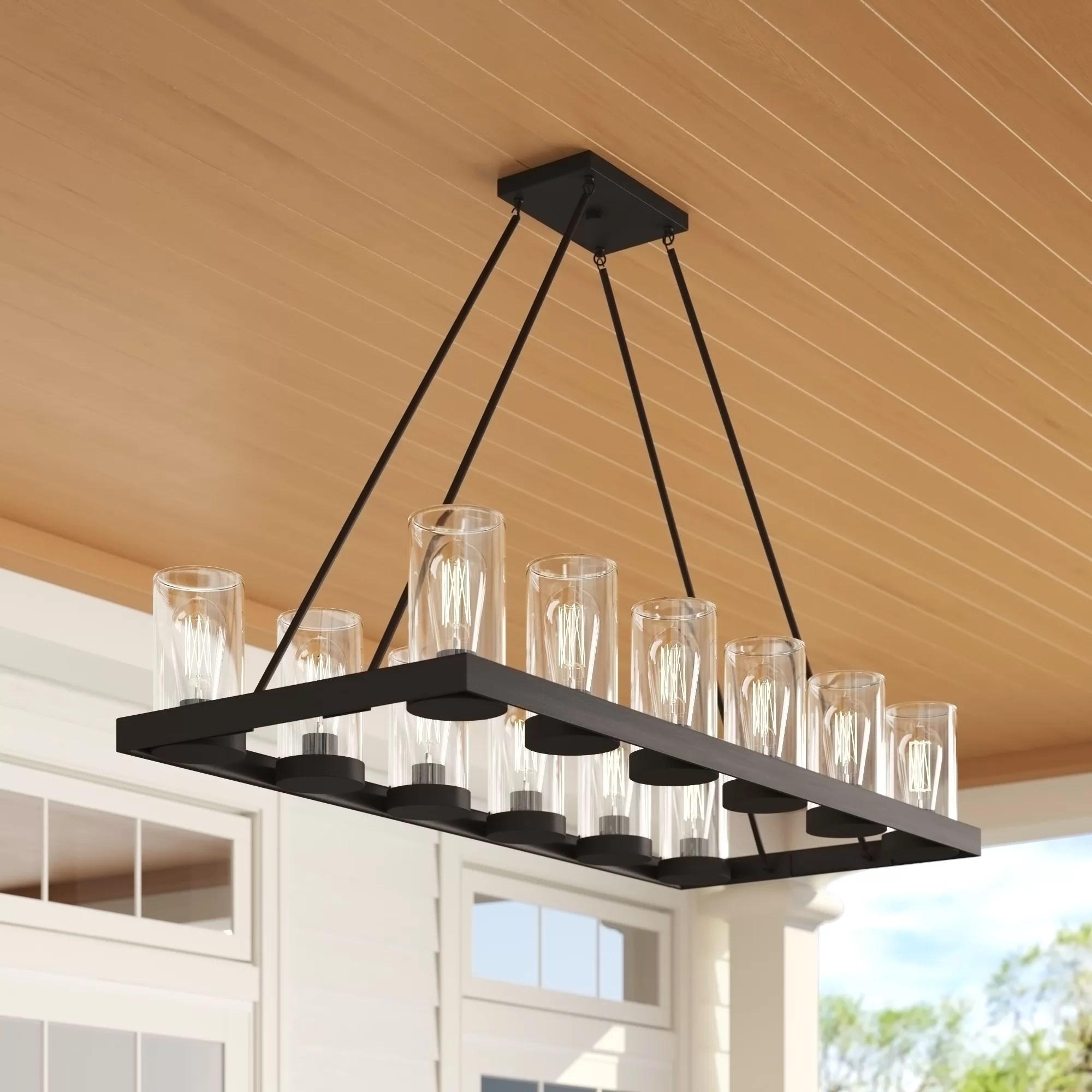 manervia 12 light outdoor chandelier