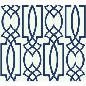 "Schroeders Lattice 27' x 27"" Geometric Wallpaper Roll"