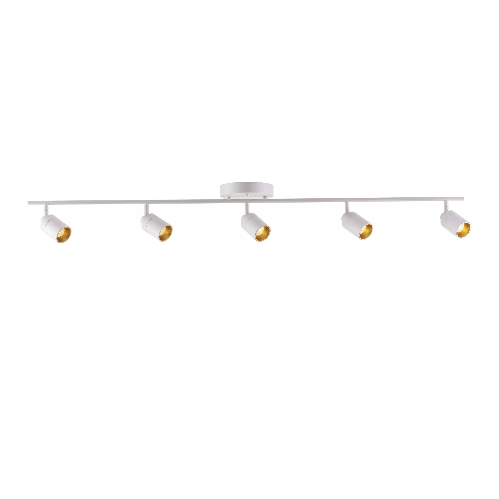 led track light fixture ceiling lighting with rotating head
