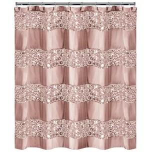 irie striped single shower curtain