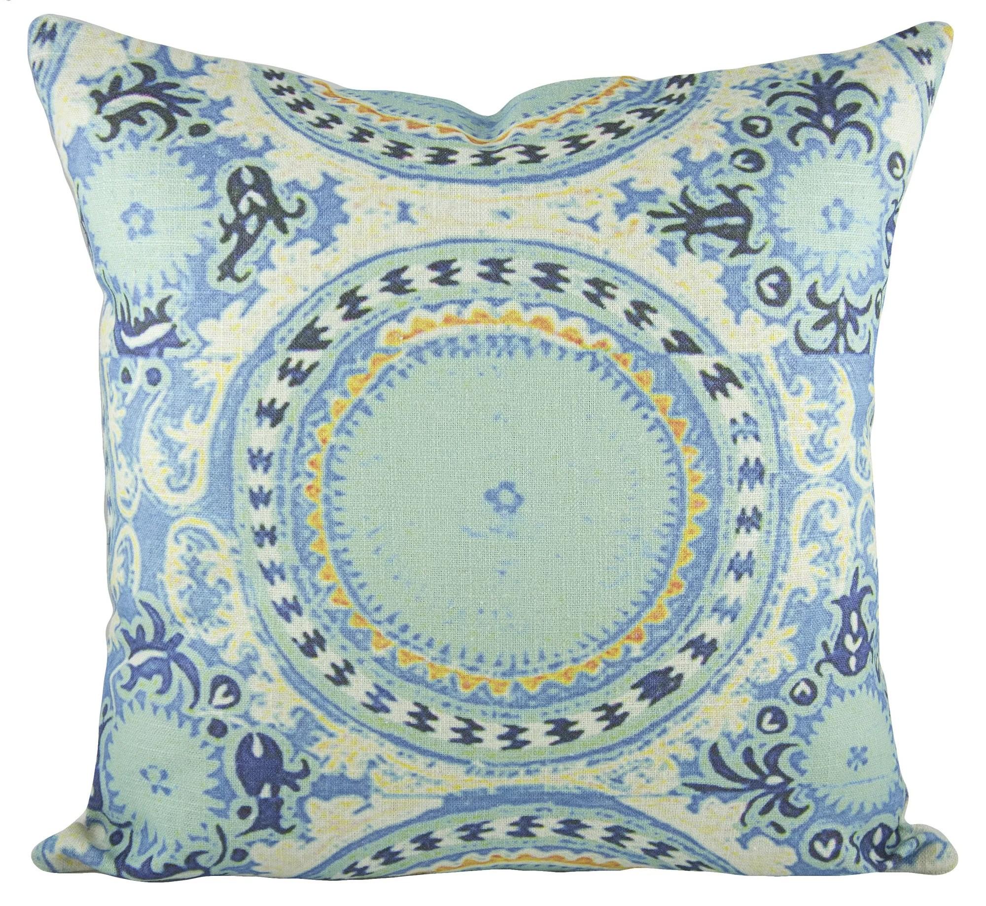 Thewatsonshop Bohemian Cotton Throw Pillow Reviews Wayfair
