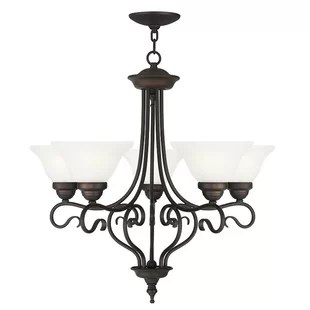 Lewisboro 5-Light Shaded Chandelier