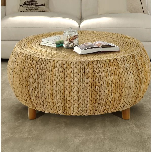 low ground coffee table