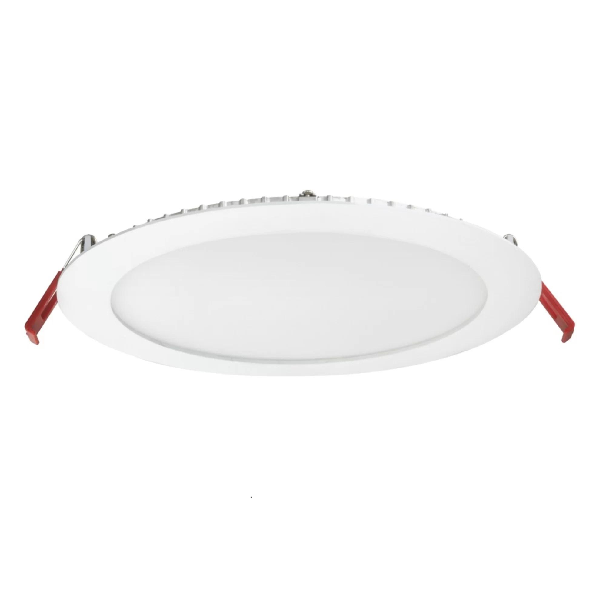 wafer led recessed lighting kit