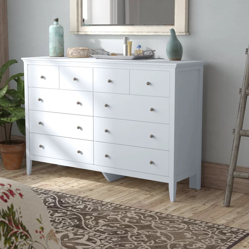sonja 8 drawer double dresser