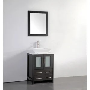 vessel sink vanities you'll love | wayfair