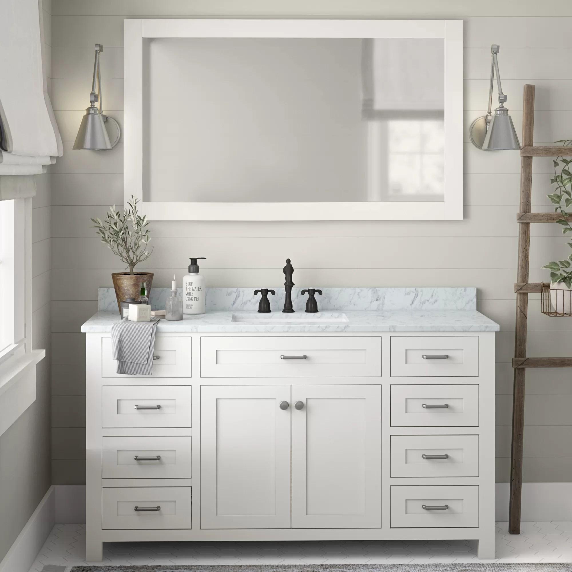 lee 60 single bathroom vanity set