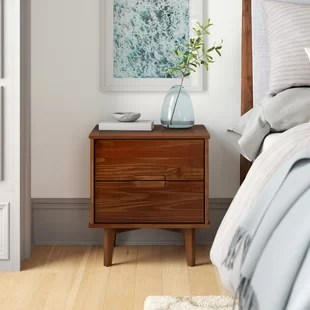 isabelle 2 drawer nightstand