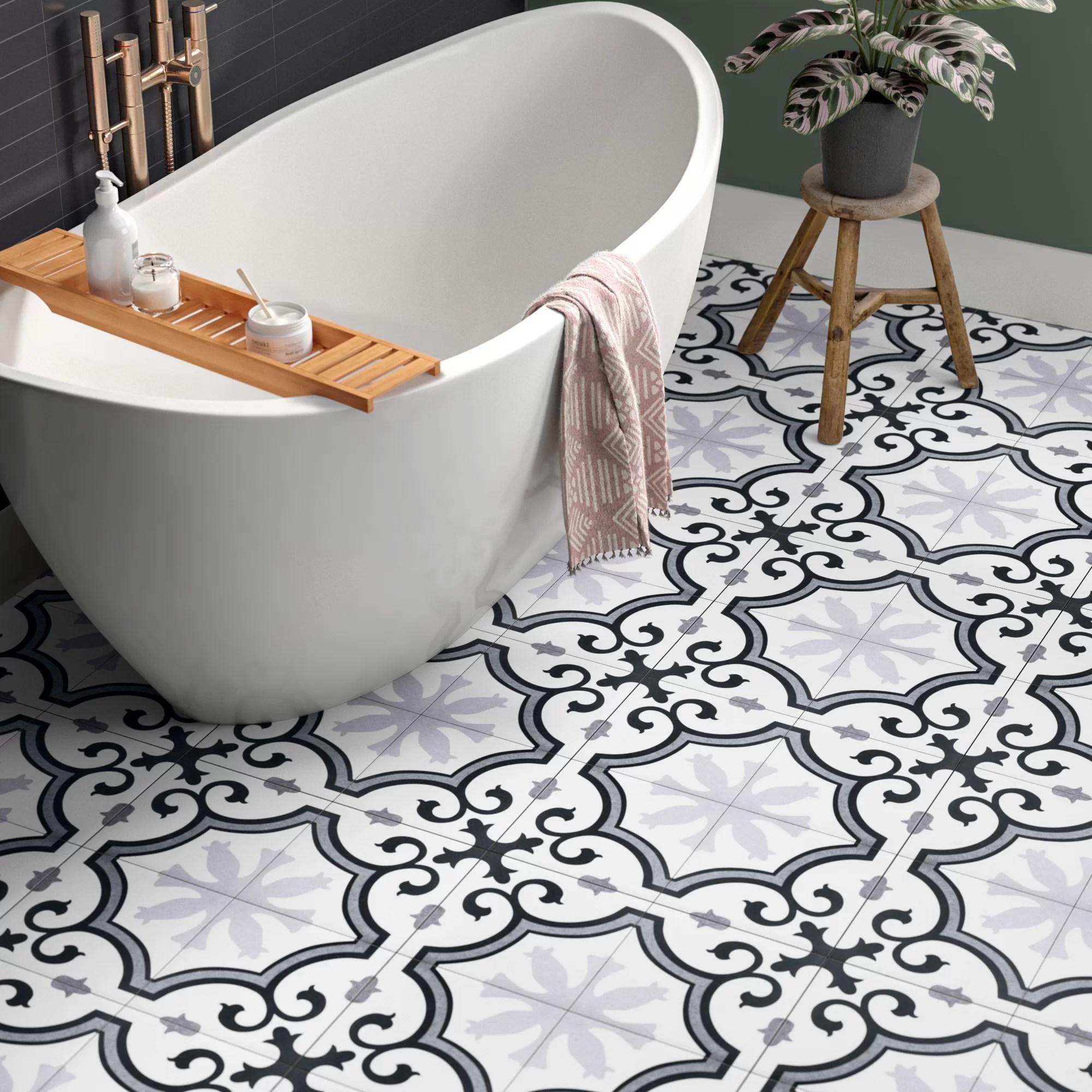 eliora 10 x 10 porcelain field tile