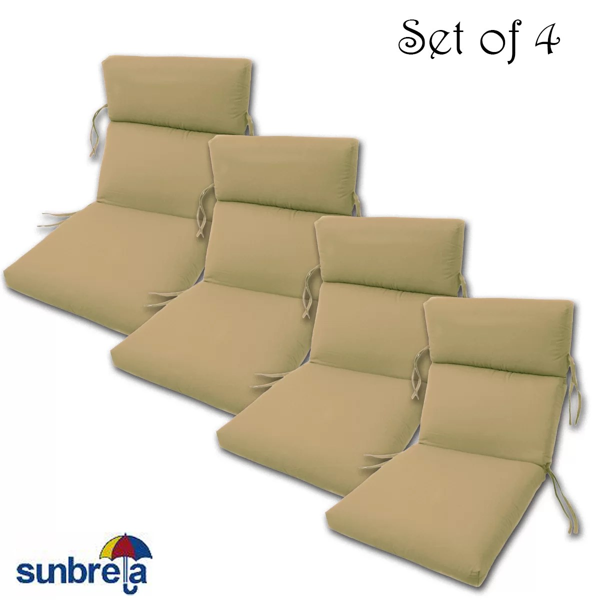 Indoor Outdoor Sunbrella Chair Cushion Reviews Allmodern