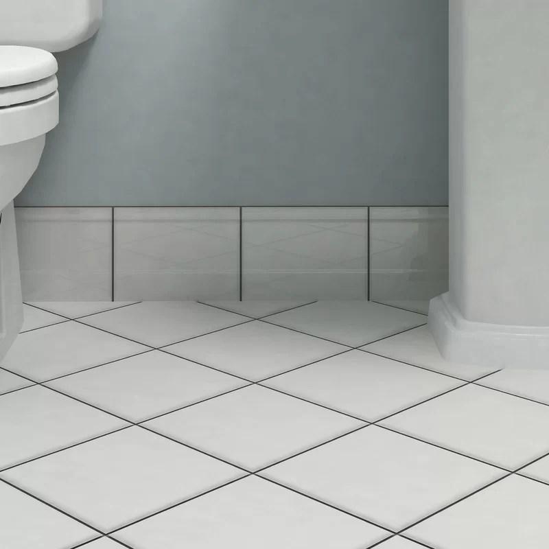 thira 7 9 x 5 9 glossy ceramic bullnose tile trim in blanco