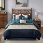 Cottonight Navy Floral Duvet Cover Twin Cotton Women Flower Bedding Navy Blue Vintage Boho Bedding Set Botanical Reversible Grid 3pc Super Soft Kids Furniture Decor Storage Duvet Cover Sets