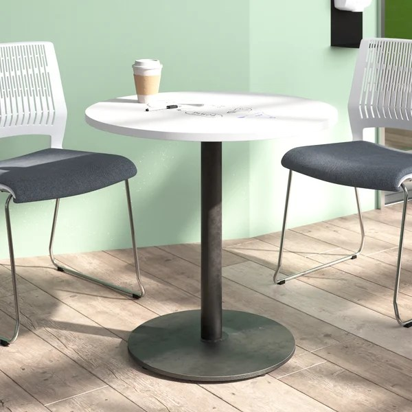 particle board round table