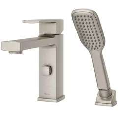 2 hole deck mounted bathtub faucets you