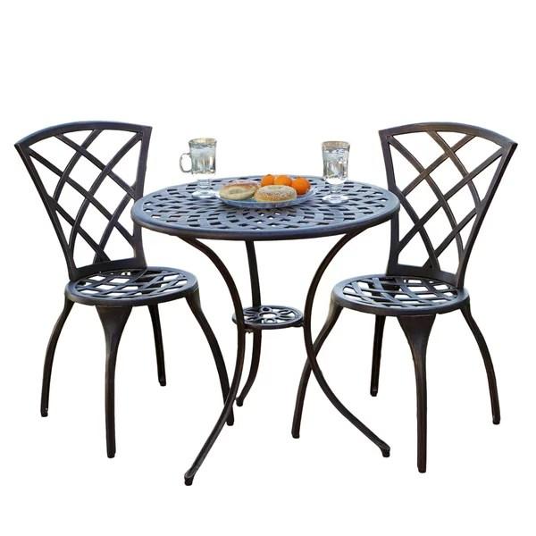 metal patio dining sets