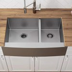 Topcraft Stainless Steel 30 L X 20 W Double Basin Farmhouse Kitchen Sink Wayfair