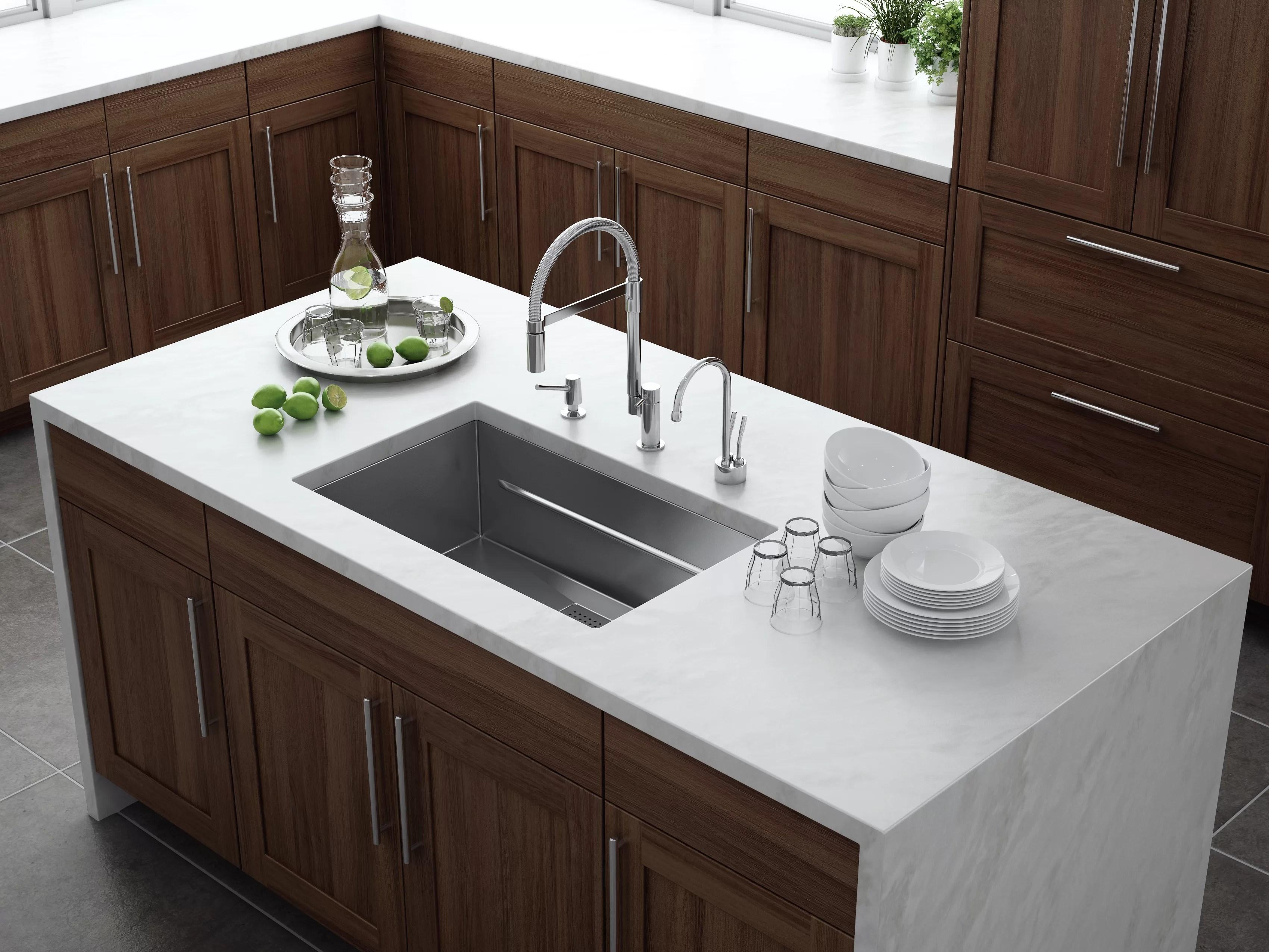 peak 29 l x 18 w undermount kitchen sink