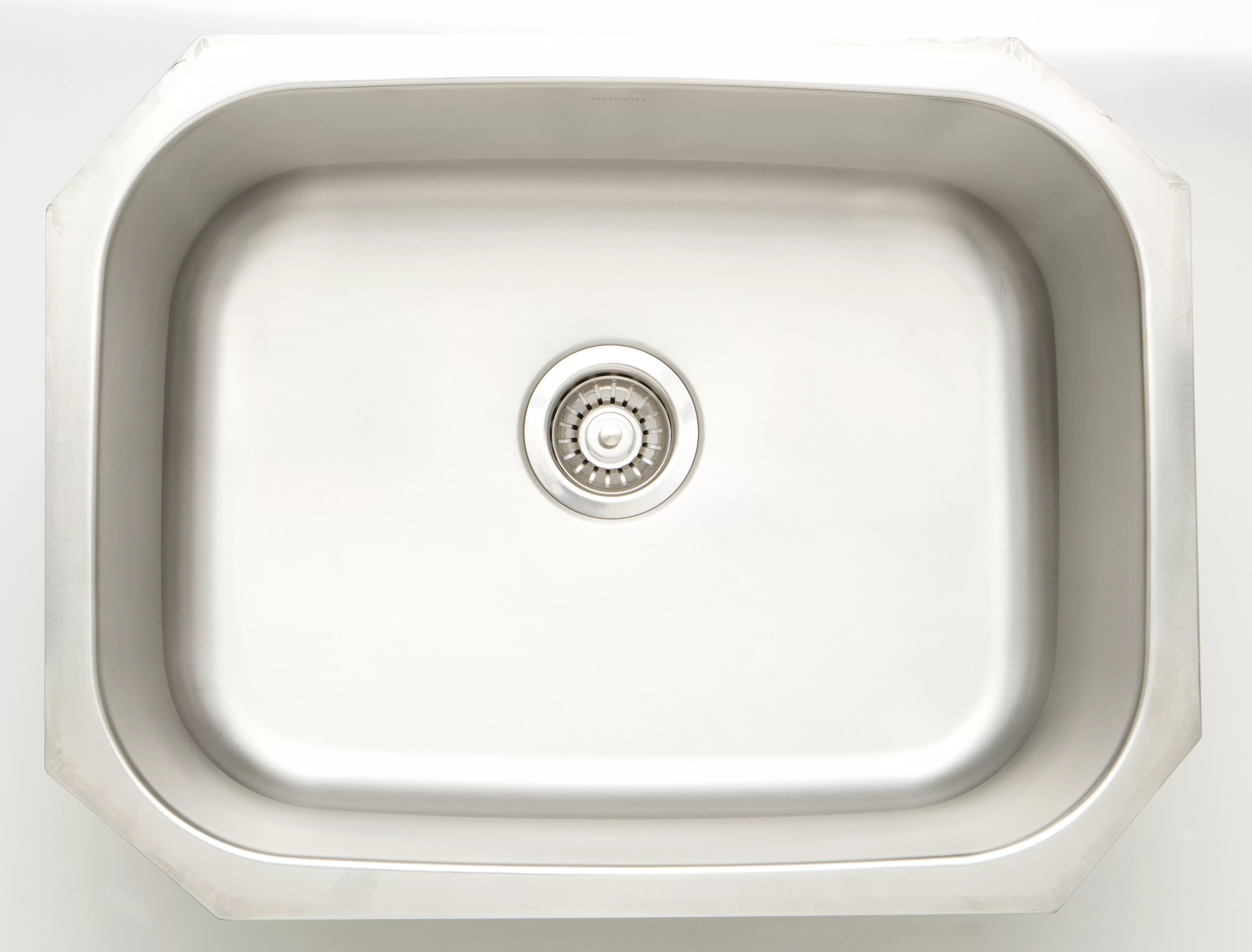 royalpurplebathkitchen 25 x 19 undermount kitchen sink with 18 gauge wayfair