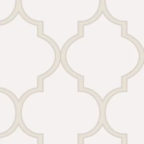 Harkins 4' L x 2' W Moroccan Small Pattern Peel and Stick Wallpaper Roll