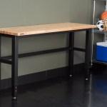 Wfx Utility 72 W Adjustable Height Wood Workbench Reviews Wayfair