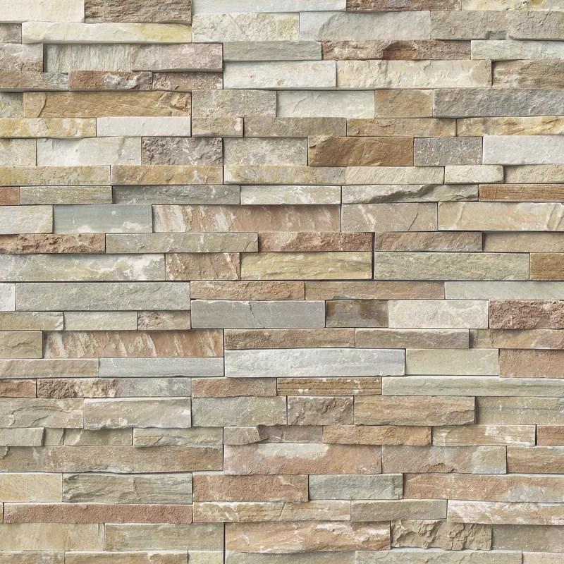 6 x 18 natural stone corner piece tile trim in white gray