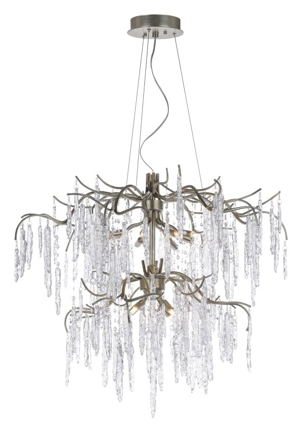 crystal chandelier tiered # 63