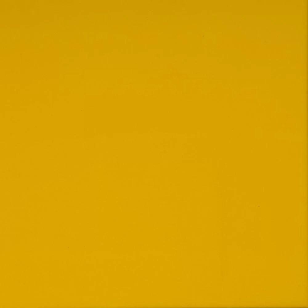 6 x 6 ceramic field tile in yellow
