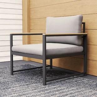 baldwyn 28 wide outdoor chair with cushions
