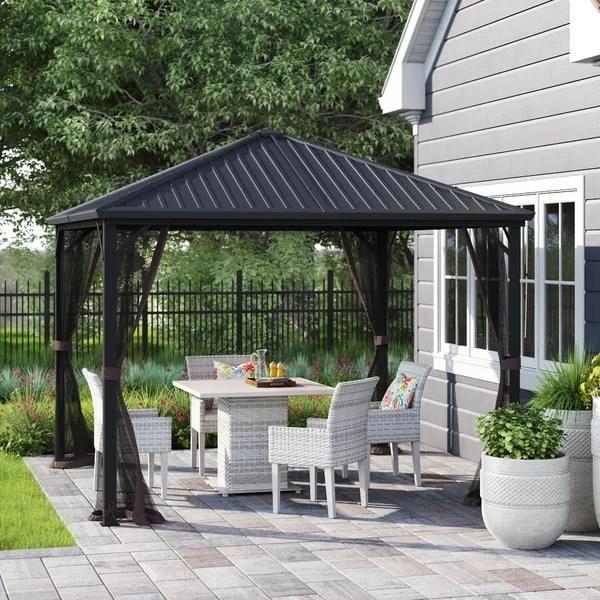 freestanding patio roof