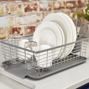 free standing dish rack