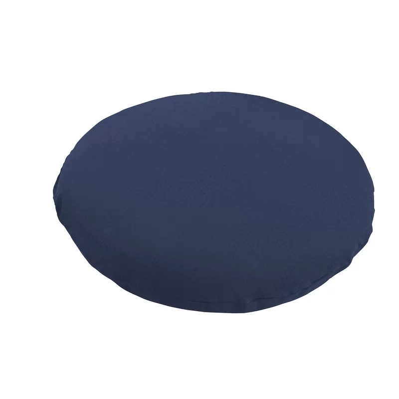 outdoor sunbrella round dining chair cushion