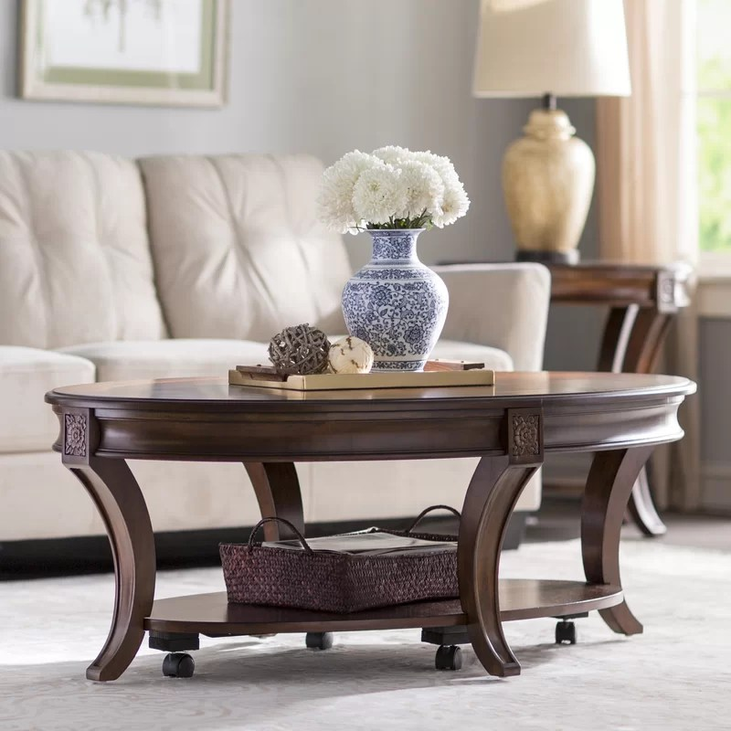 Stephenson Coffee Table with Storage