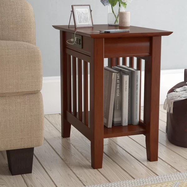 14 inch end table