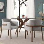Mercury Row Mukai Upholstered Arm Chair In Gray Reviews Wayfair