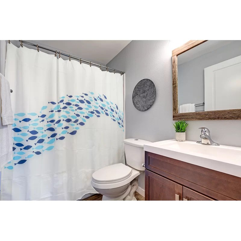 crity dolphin shower curtain 4 piece